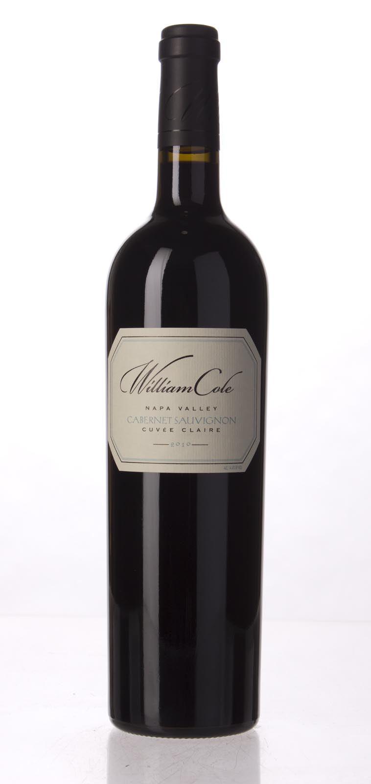 William Cole Cabernet Sauvignon Cuvee Claire 2010, 750mL (WA93+) from The BPW - Merchants of rare and fine wines.