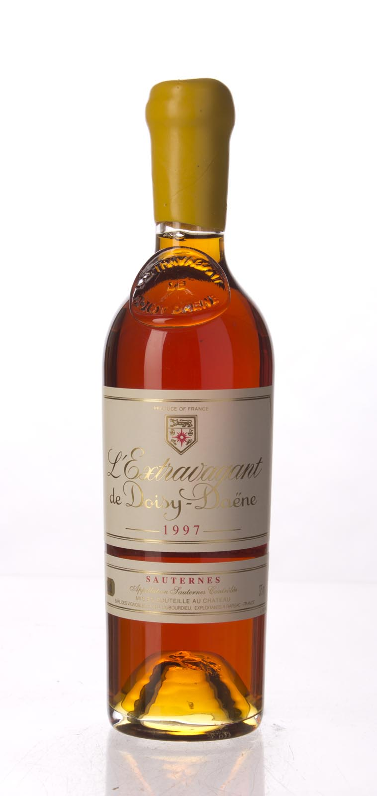 Doisy Daene L`Extravagant 1997, 375mL (WA98) from The BPW - Merchants of rare and fine wines.
