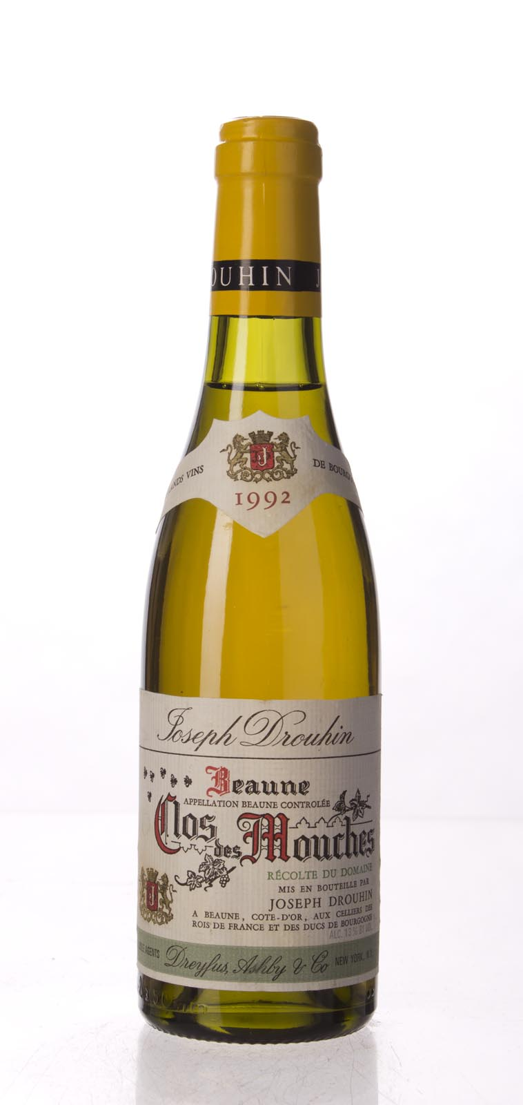 Domaine Joseph Drouhin Beaune Clos des Mouches Blanc 1992, 375mL (WA90) from The BPW - Merchants of rare and fine wines.