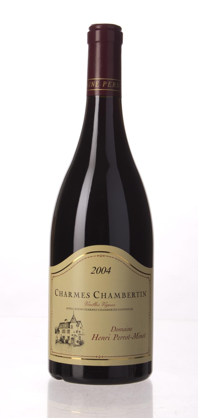 Domaine Perrot Minot Charmes Chambertin Vieilles Vignes 2004, 750mL (ST91, WS91) from The BPW - Merchants of rare and fine wines.