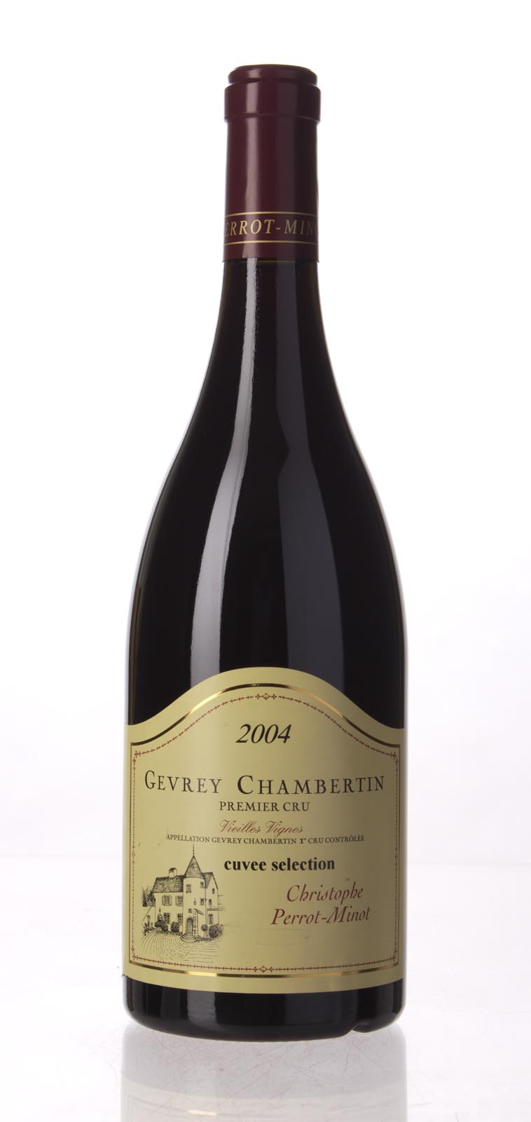 Domaine Perrot Minot Gevrey Chambertin 1er Cru Vieilles Vignes 2004, 750mL (WS91) from The BPW - Merchants of rare and fine wines.