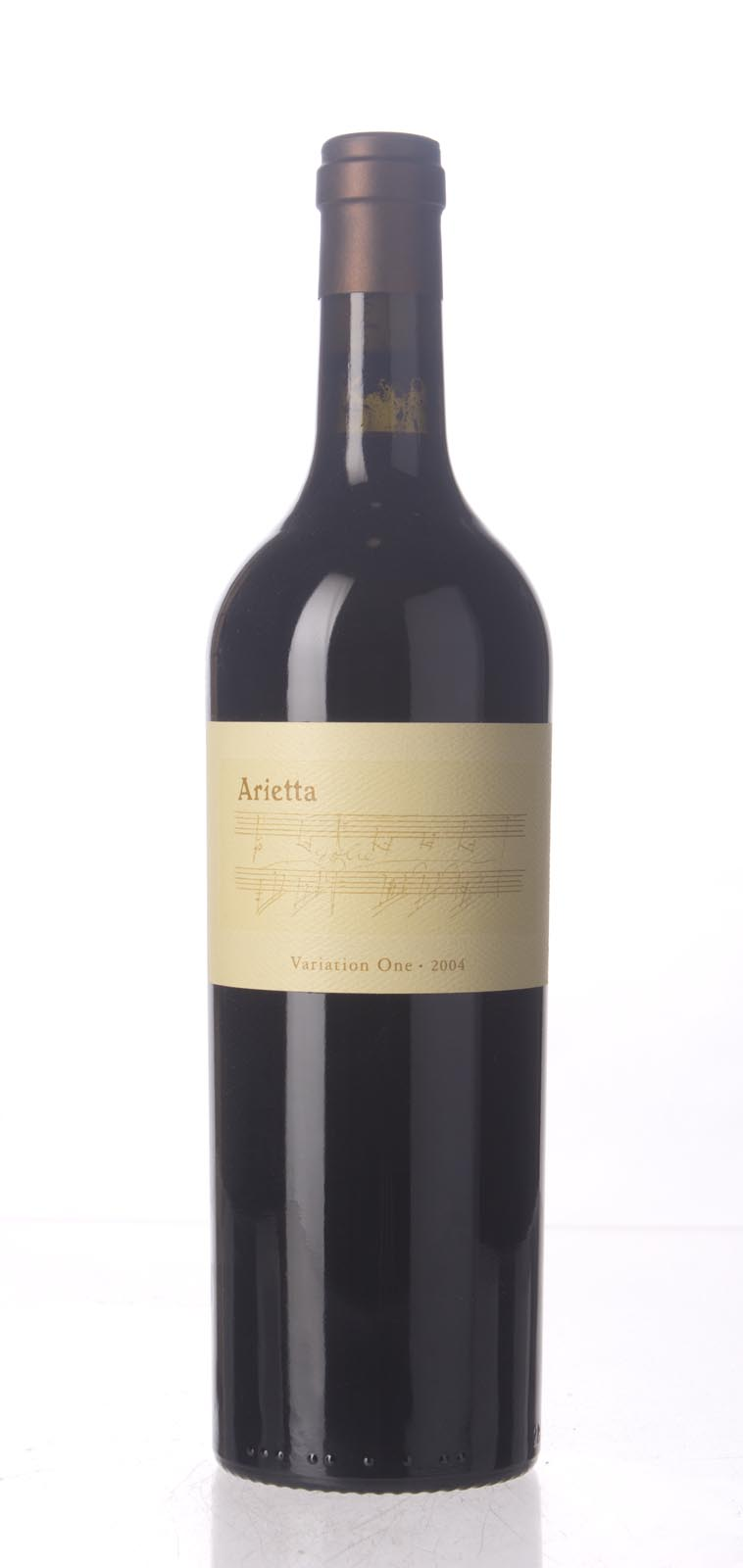 Arietta Variation One 2004, 750mL (ST90+) from The BPW - Merchants of rare and fine wines.