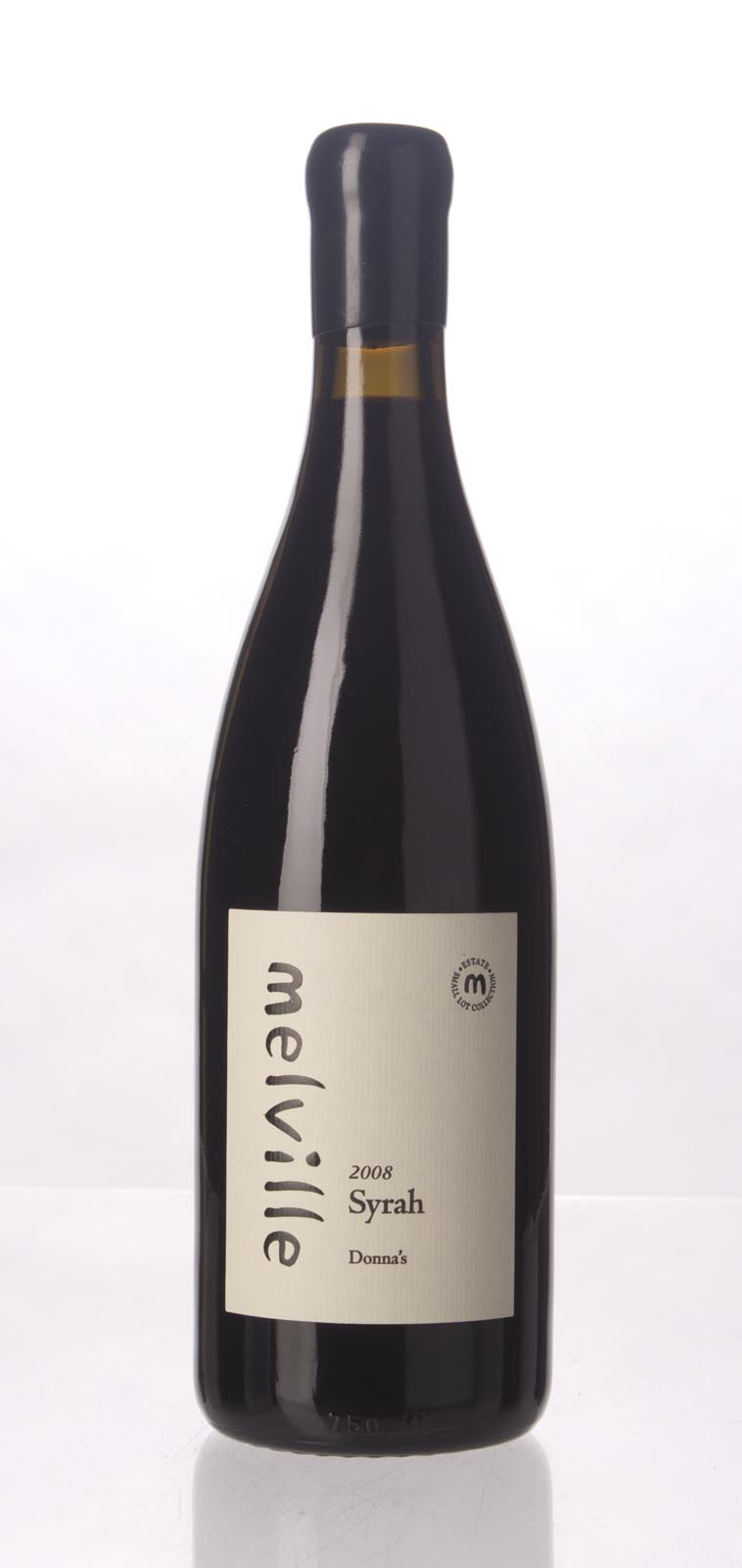 Melville Syrah Donna`s 2008, 750mL (WA98) from The BPW - Merchants of rare and fine wines.