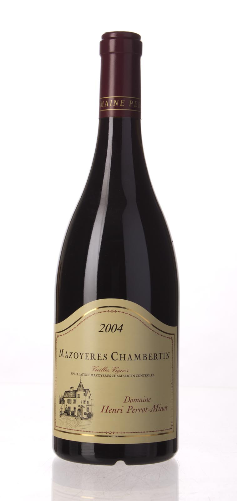 Domaine Perrot Minot Mazoyeres Chambertin Vieilles Vignes 2004, 750mL (ST92, WS91) from The BPW - Merchants of rare and fine wines.