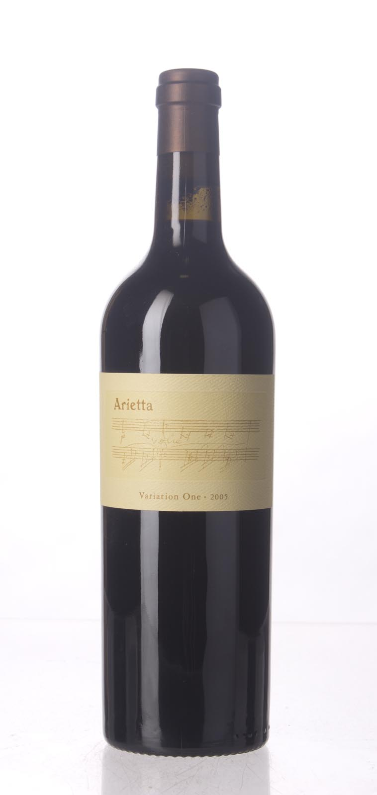 Arietta Variation One 2005, 750mL (WA92, ST92+) from The BPW - Merchants of rare and fine wines.