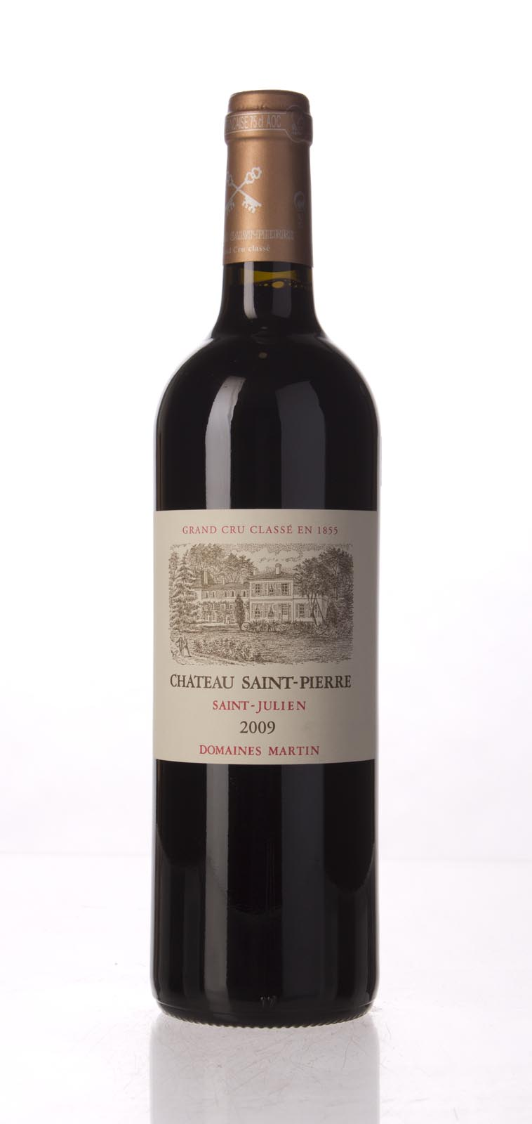 St. Pierre St. Julien 2009, 750mL (WA98) from The BPW - Merchants of rare and fine wines.