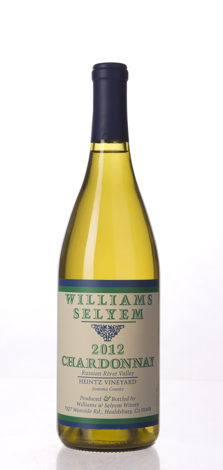 Williams Selyem Chardonnay Heintz Vineyard 2012, 750mL (ST92) from The BPW - Merchants of rare and fine wines.