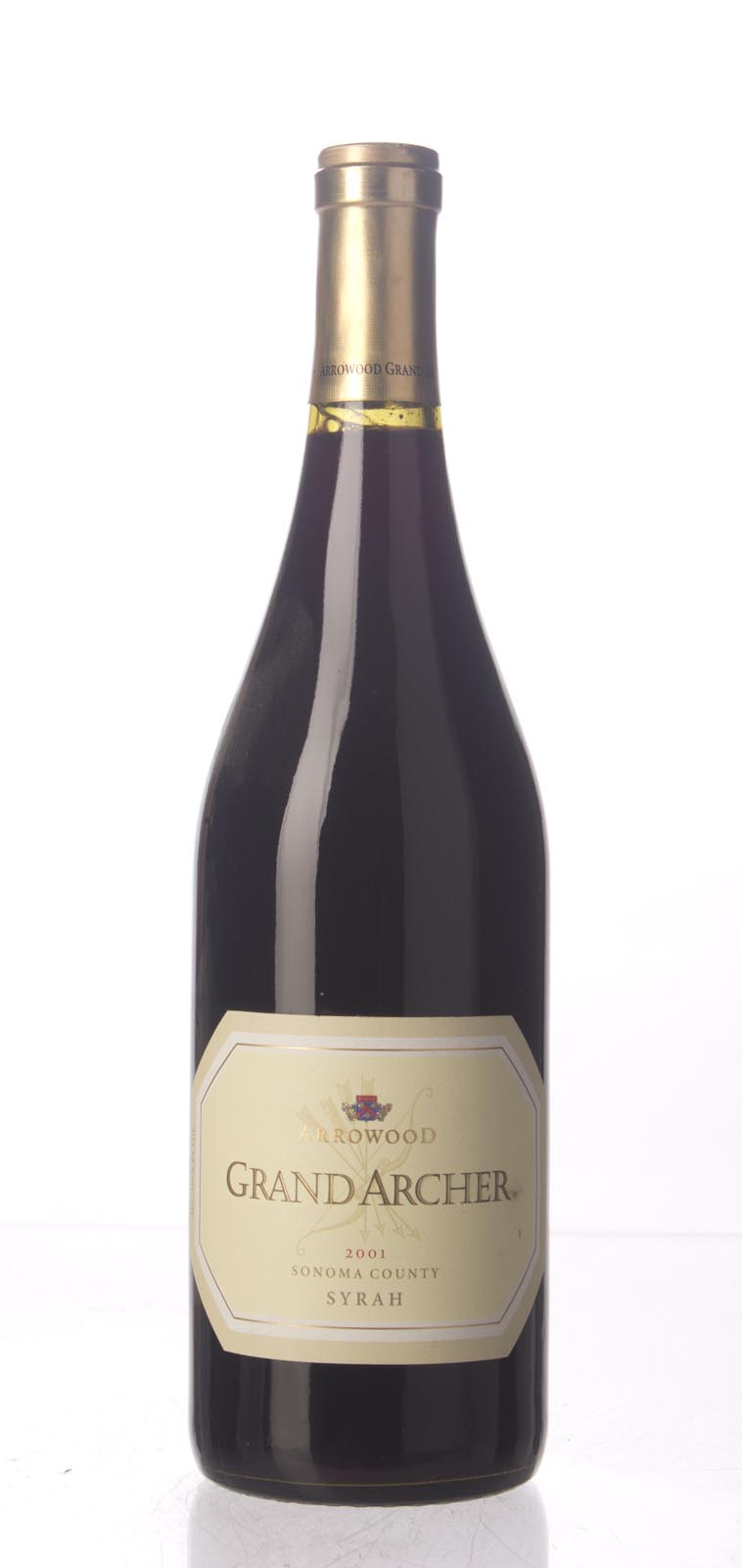 Arrowood Syrah Domaine du Grand Archer 2001, 750mL () from The BPW - Merchants of rare and fine wines.