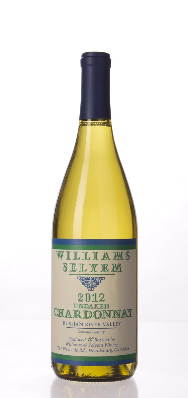 Williams Selyem Chardonnay Unoaked Russian River Valley 2012, 750mL (ST90) from The BPW - Merchants of rare and fine wines.