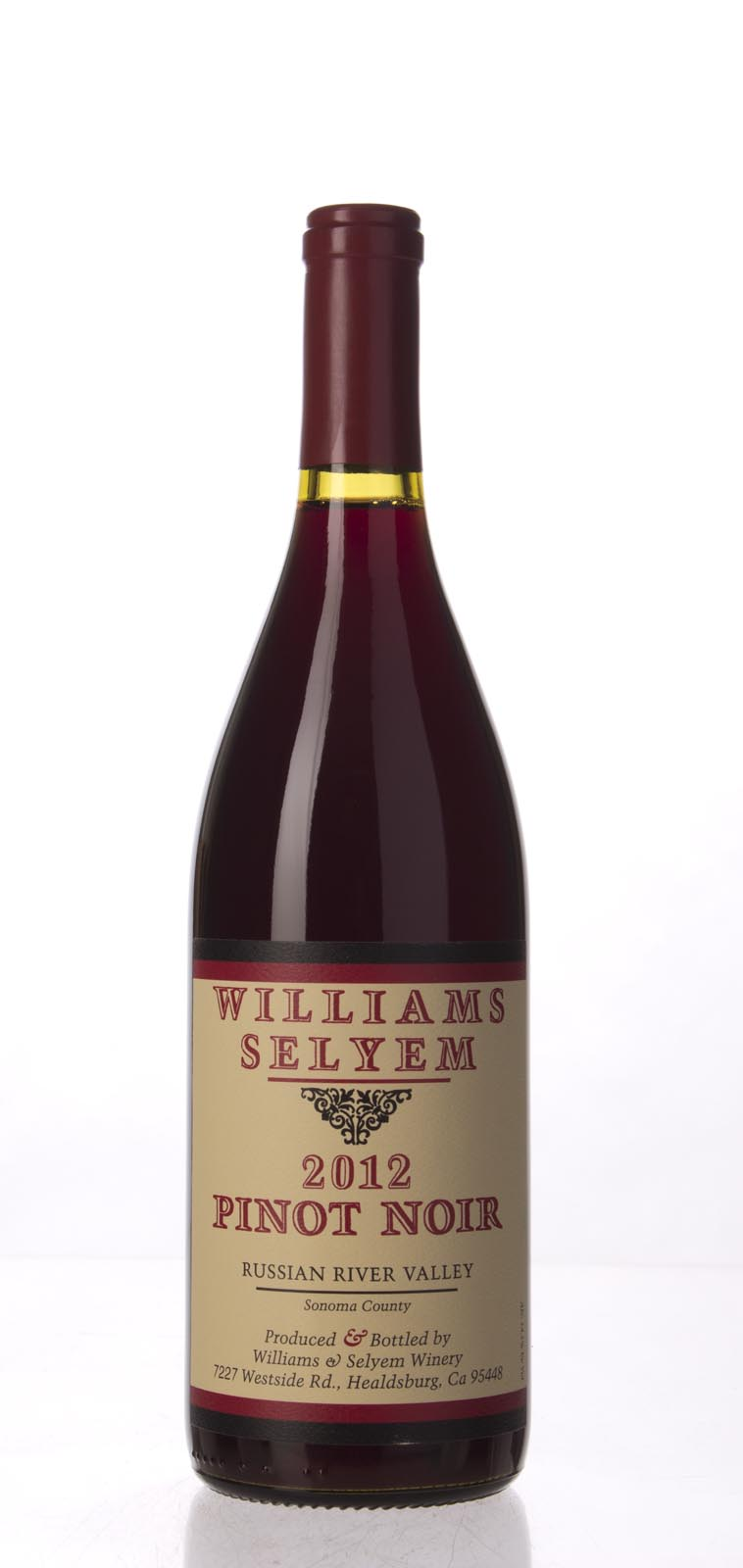 Williams Selyem Pinot Noir Russian River Valley 2012, 750mL (ST91) from The BPW - Merchants of rare and fine wines.