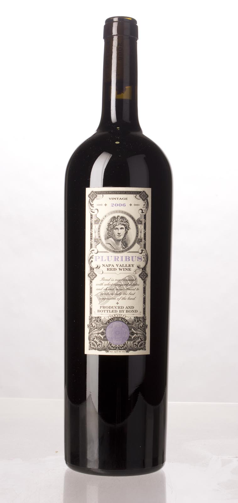 Bond Pluribus 2006, 1.5L (WA94, ST96) from The BPW - Merchants of rare and fine wines.