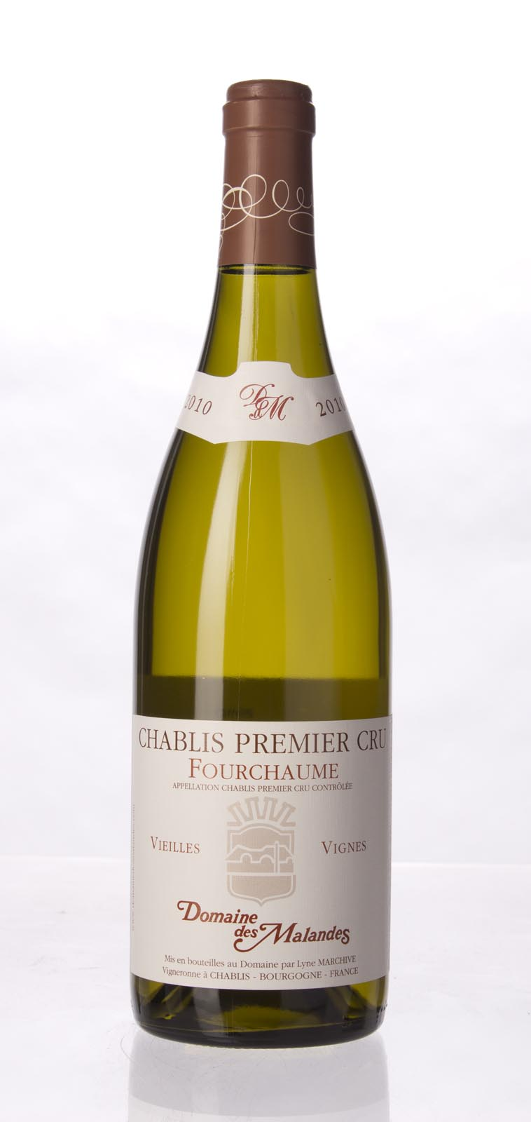 Domaine des Malandes Chablis Fourchaume 2012,  (BH91) from The BPW - Merchants of rare and fine wines.
