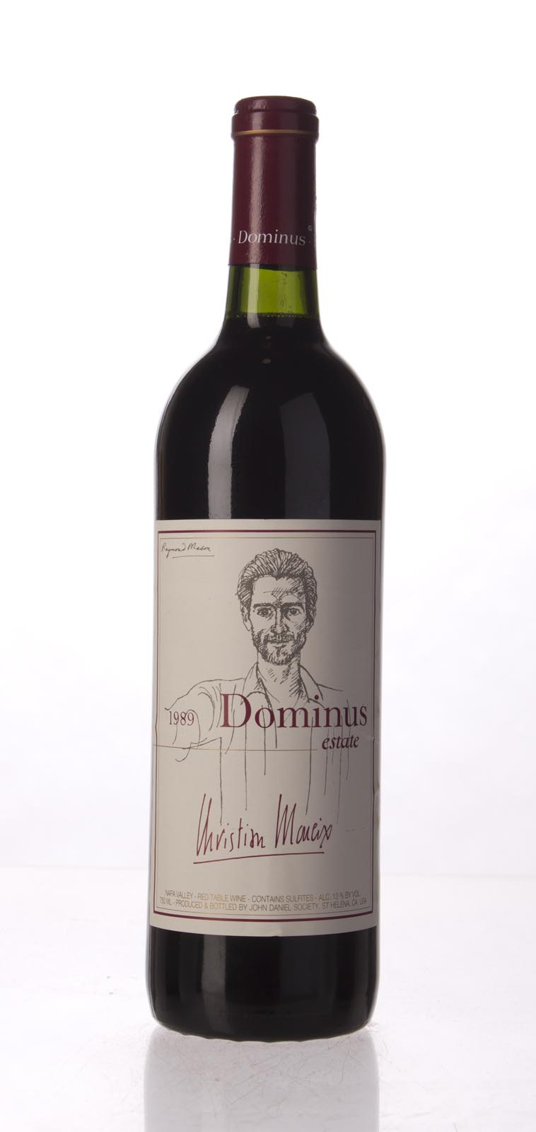 Dominus Proprietary Red Wine 1989,  (WA92) from The BPW - Merchants of rare and fine wines.
