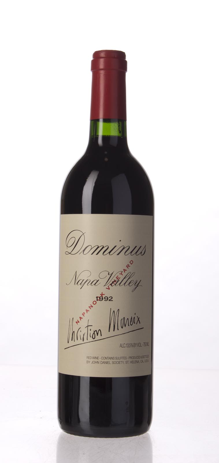 Dominus Proprietary Red Wine 1992, 750mL (WA95) from The BPW - Merchants of rare and fine wines.