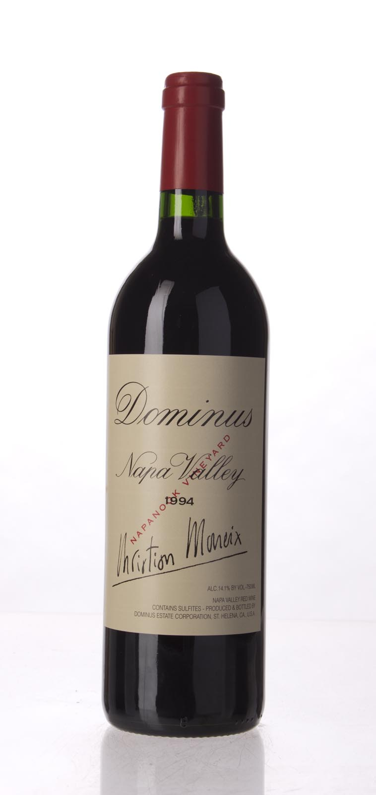 Dominus Proprietary Red Wine 1994, 750mL (WA99, ST97) from The BPW - Merchants of rare and fine wines.