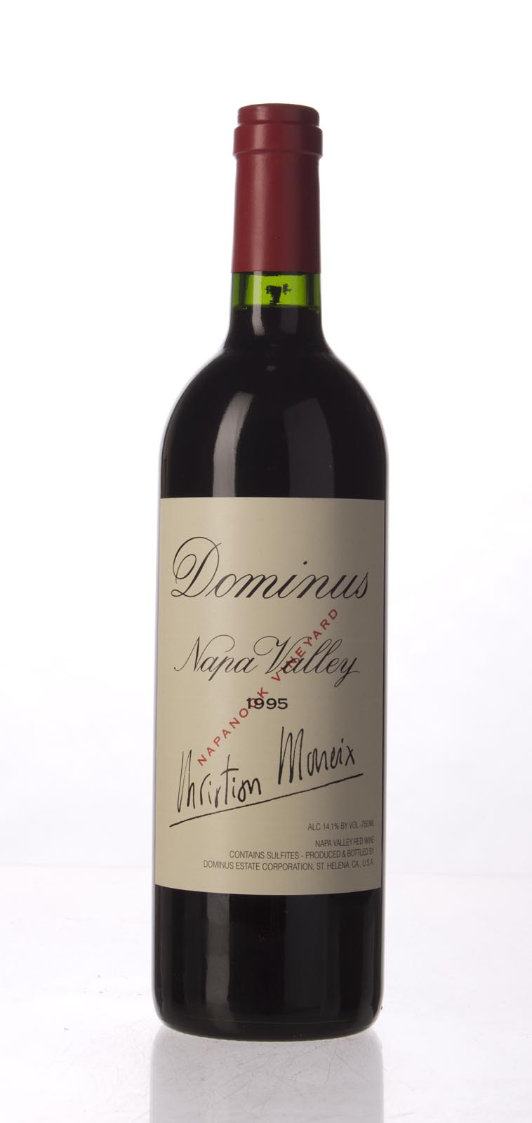 Dominus Proprietary Red Wine 1995, 750mL (WA93, ST93) from The BPW - Merchants of rare and fine wines.