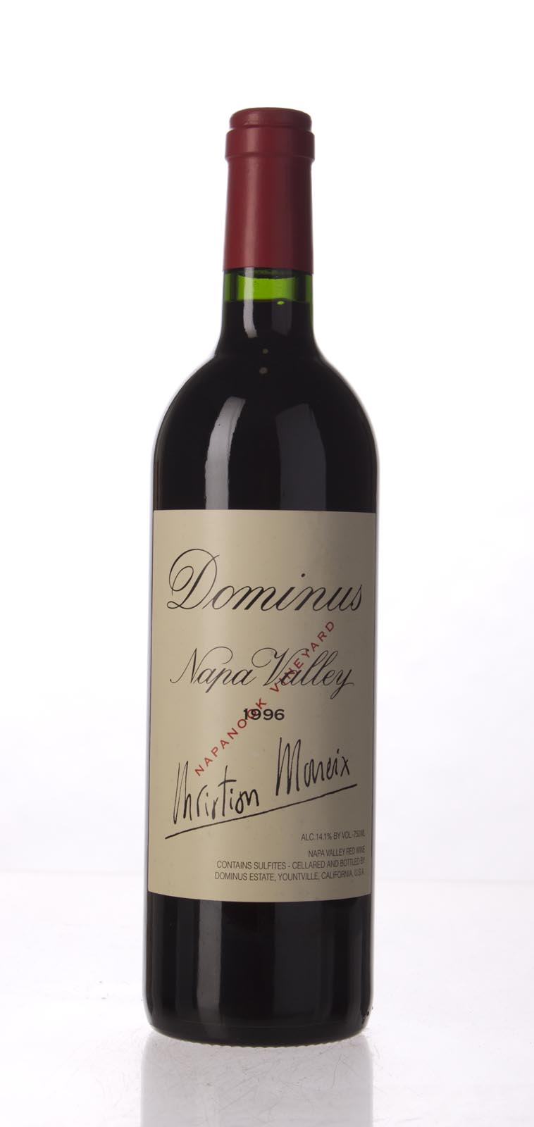 Dominus Proprietary Red Wine 1996, 750mL (WA95) from The BPW - Merchants of rare and fine wines.