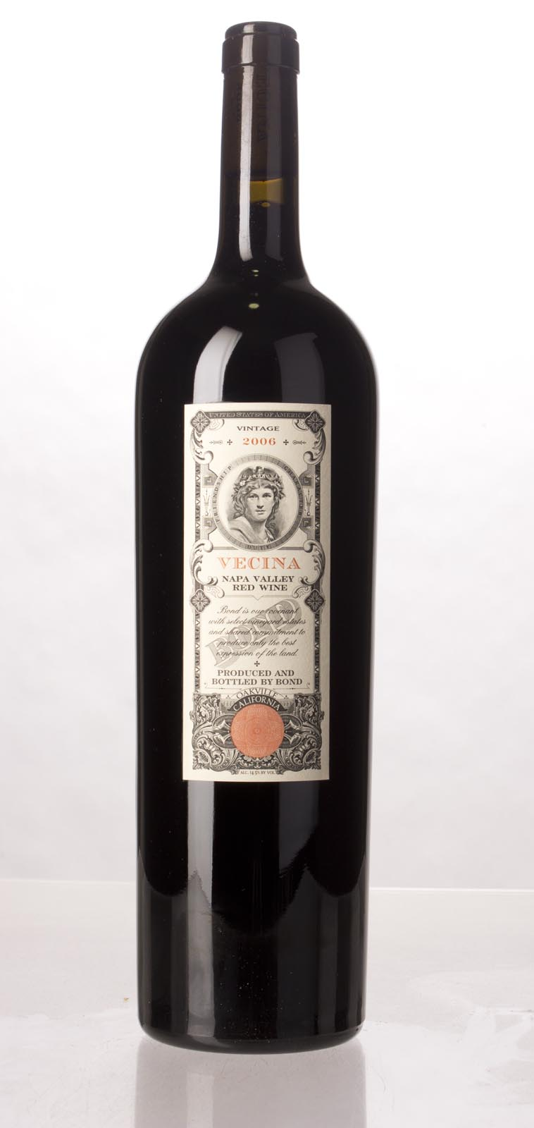 Bond Vecina 2006, 1.5L (WA95+, ST95) from The BPW - Merchants of rare and fine wines.