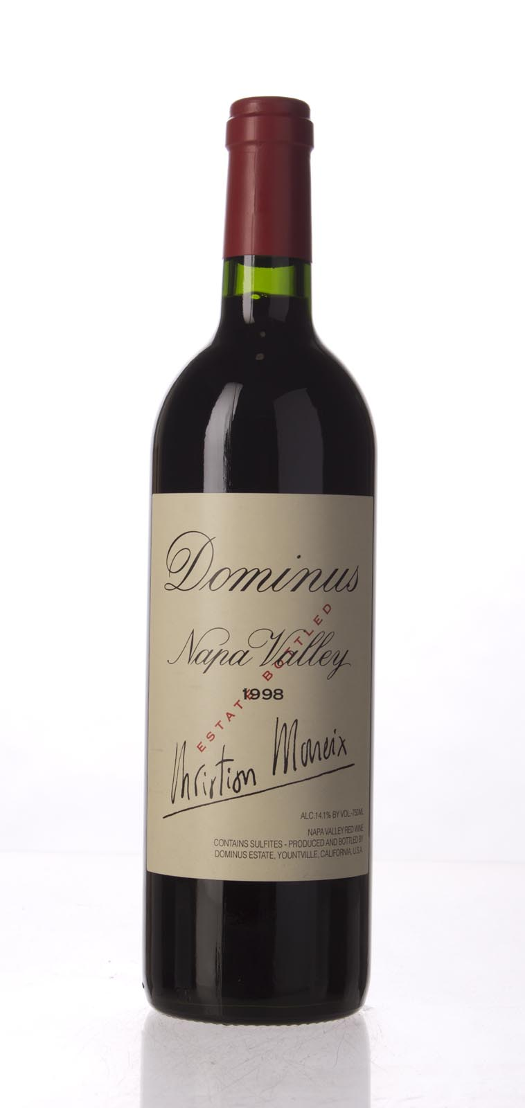 Dominus Proprietary Red Wine 1998, 750mL (ST90, WS91) from The BPW - Merchants of rare and fine wines.