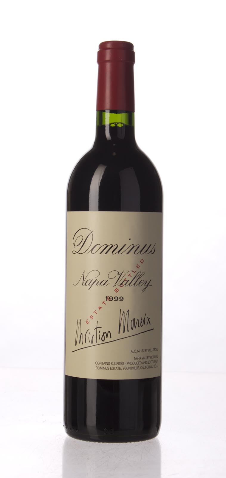 Dominus Proprietary Red Wine 1999,  (WS95) from The BPW - Merchants of rare and fine wines.