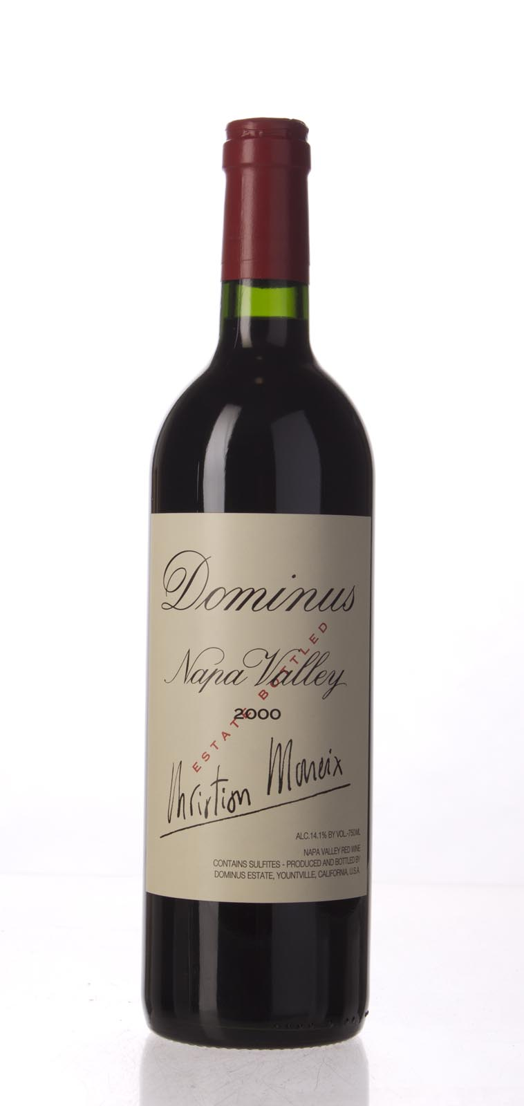 Dominus Proprietary Red Wine 2000, 750mL (ST90) from The BPW - Merchants of rare and fine wines.