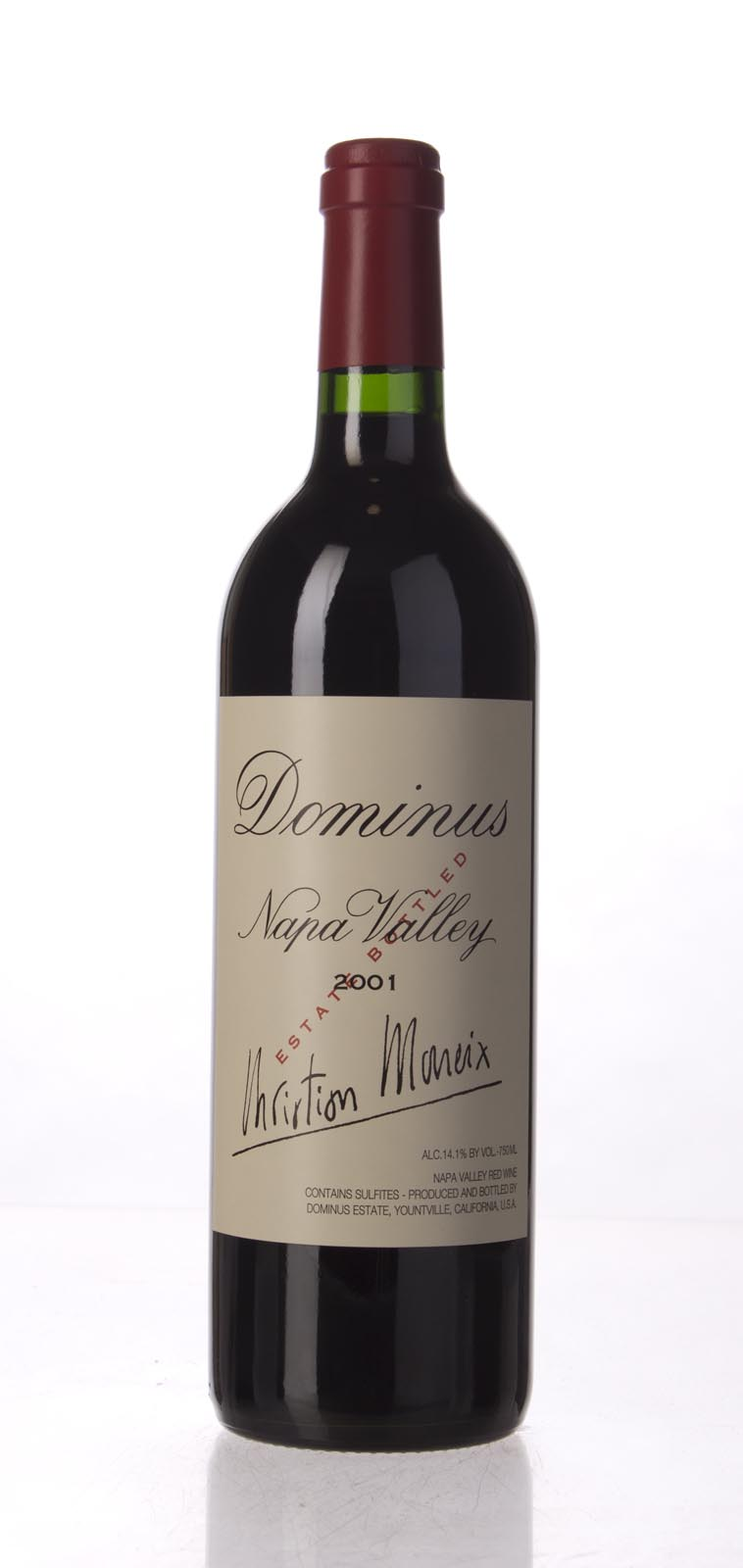 Dominus Proprietary Red Wine 2001, 750mL (WA98) from The BPW - Merchants of rare and fine wines.