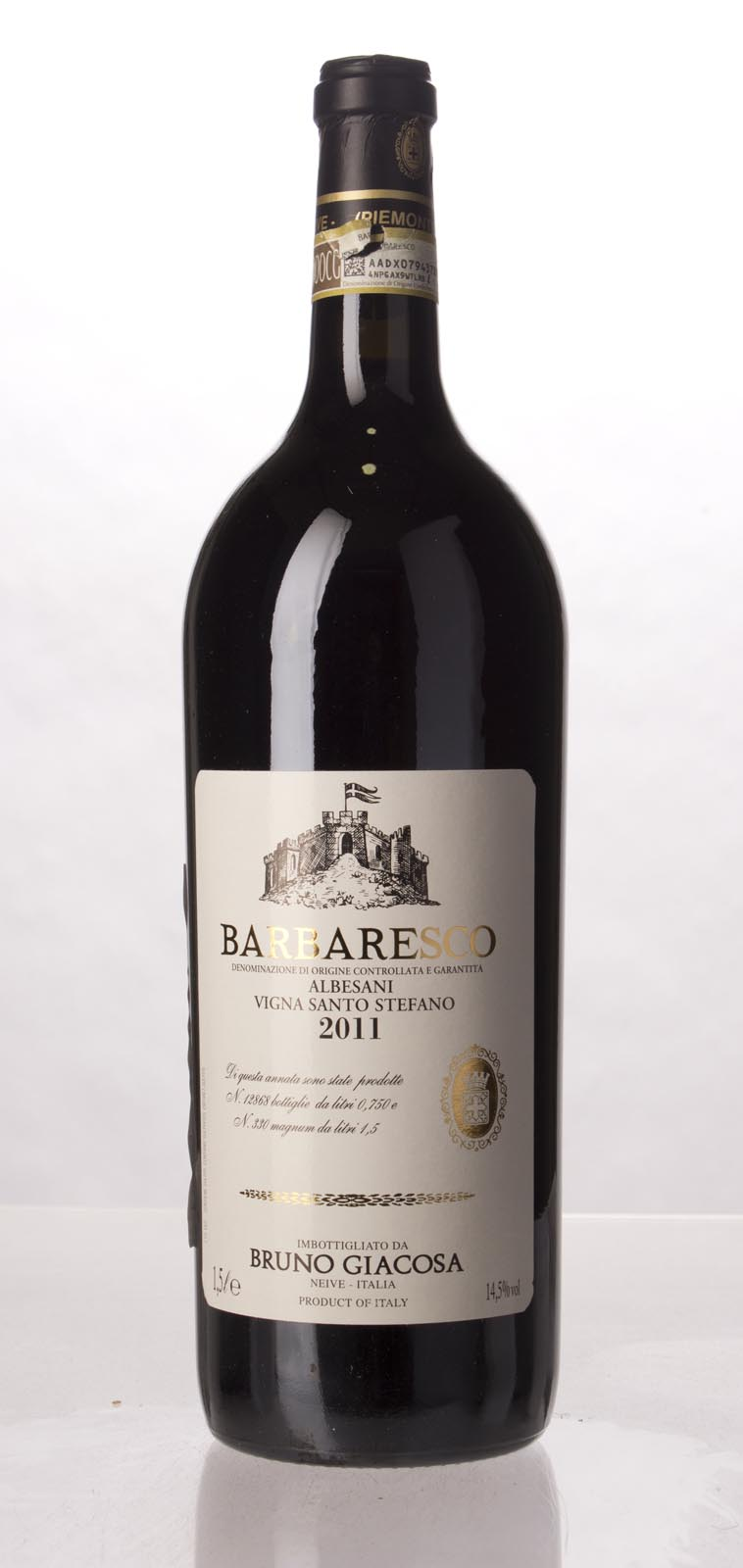 Bruno Giacosa Barbaresco Albesani 2011, 1.5L (JS94, WS93) from The BPW - Merchants of rare and fine wines.