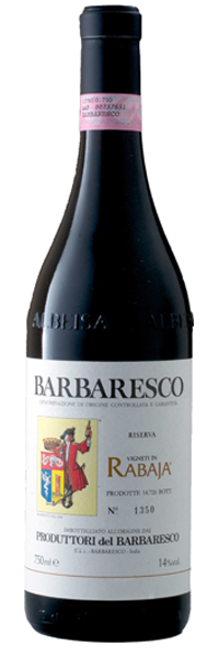 Produttori del Barbaresco Barbaresco Rabaja Riserva 2009,  (AG94+, ST92) from The BPW - Merchants of rare and fine wines.