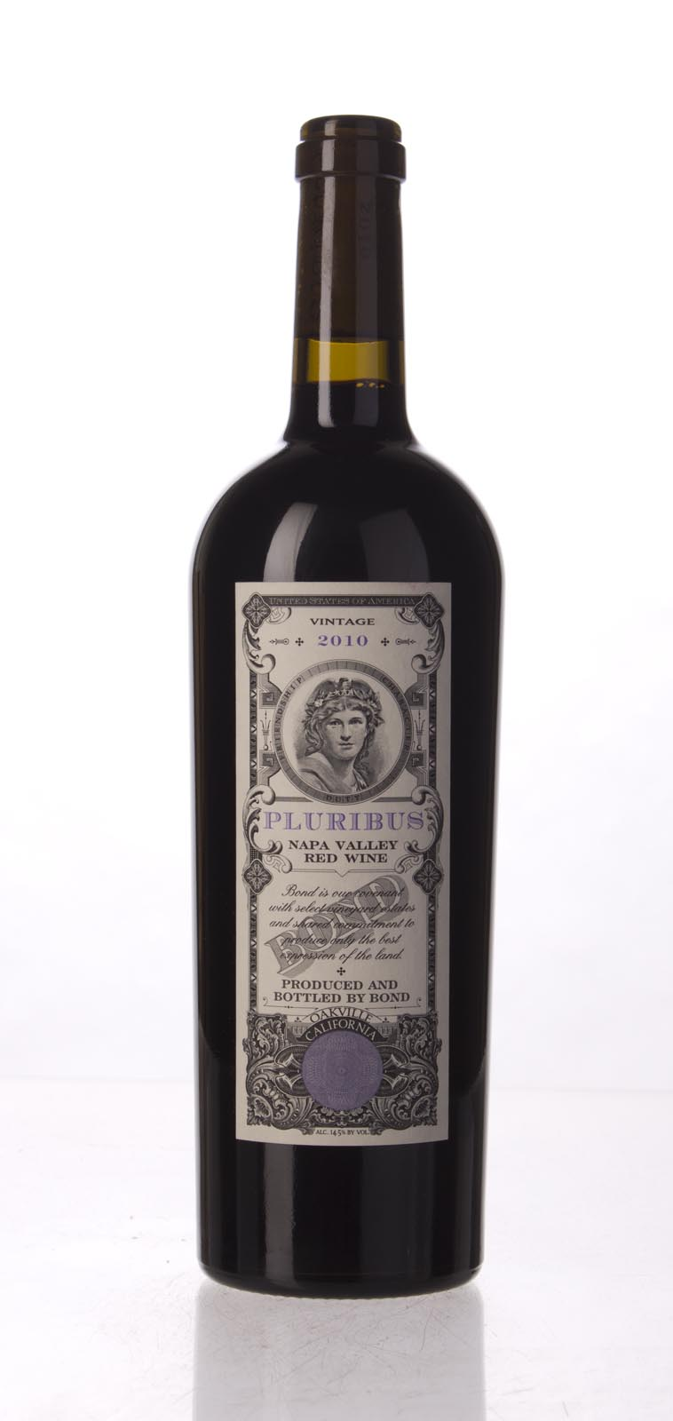 Bond Pluribus 2010,  (AG98, WA97) from The BPW - Merchants of rare and fine wines.