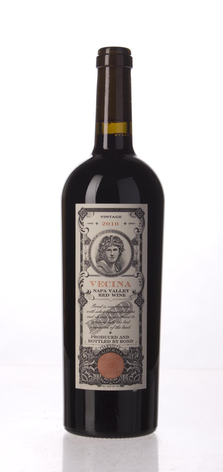 Bond Vecina 2010,  (AG99, WA99) from The BPW - Merchants of rare and fine wines.
