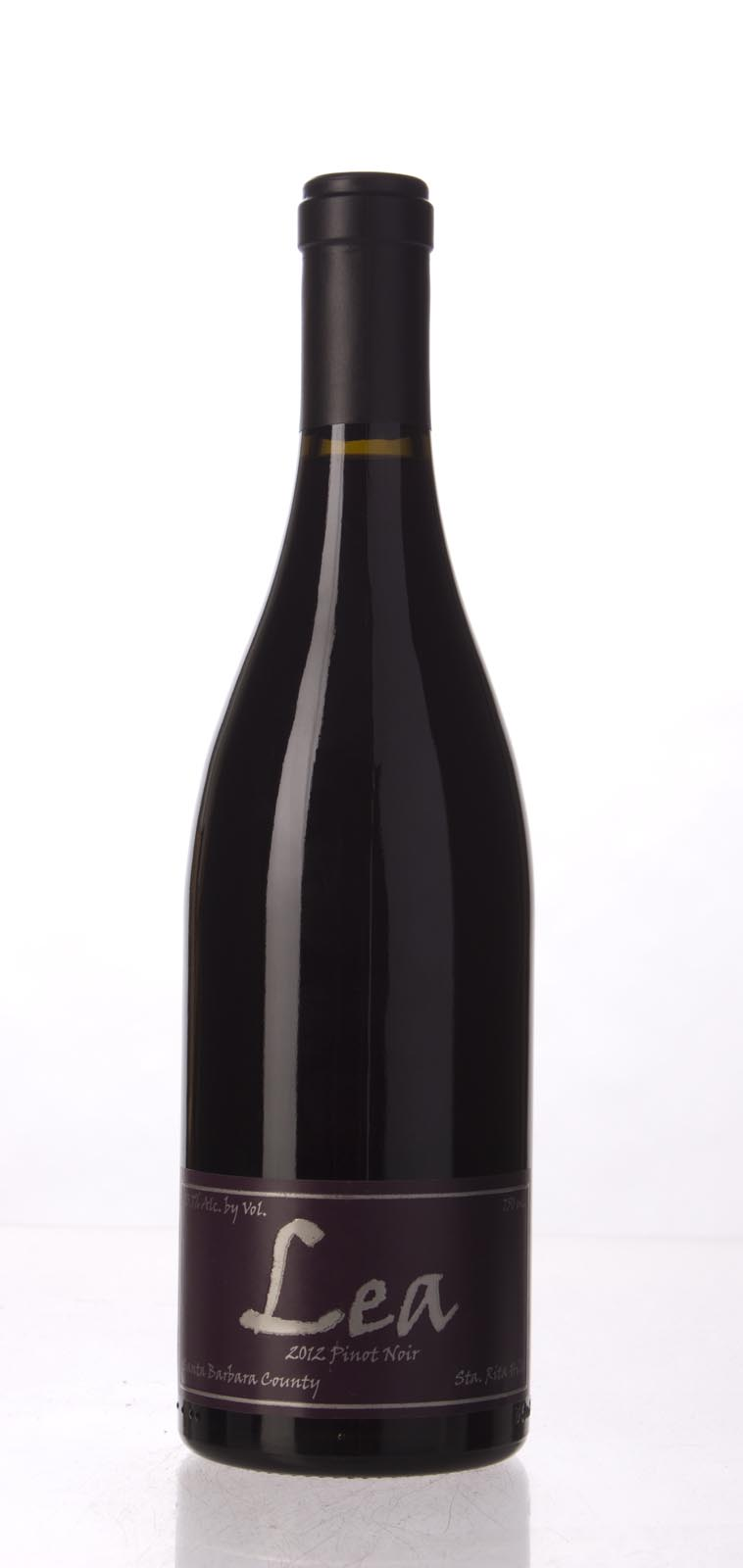 Lea Pinot Noir Santa Rita Hills 2012,  (WA92) from The BPW - Merchants of rare and fine wines.