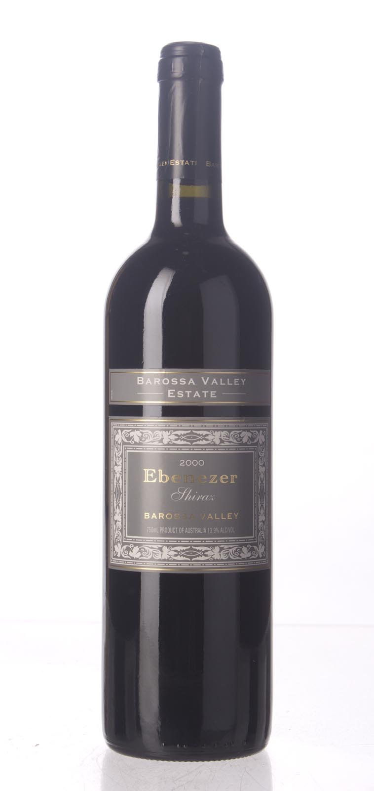 Barossa Valley Estate Shiraz Ebenezer 2000, 750mL (WS93) from The BPW - Merchants of rare and fine wines.