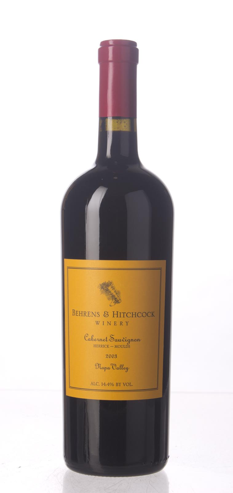 Behrens & Hitchcock Cabernet Sauvignon Herrick Moulds Vineyard 2003, 750mL (WA91+) from The BPW - Merchants of rare and fine wines.