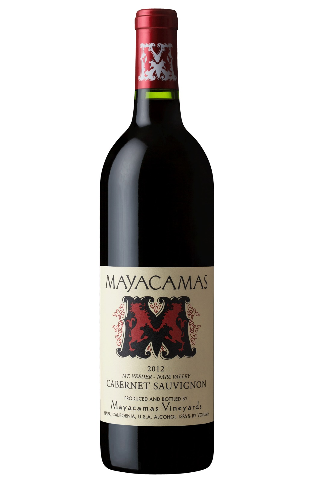 Mayacamas Cabernet Sauvignon 2012,  (VN93-96) from The BPW - Merchants of rare and fine wines.