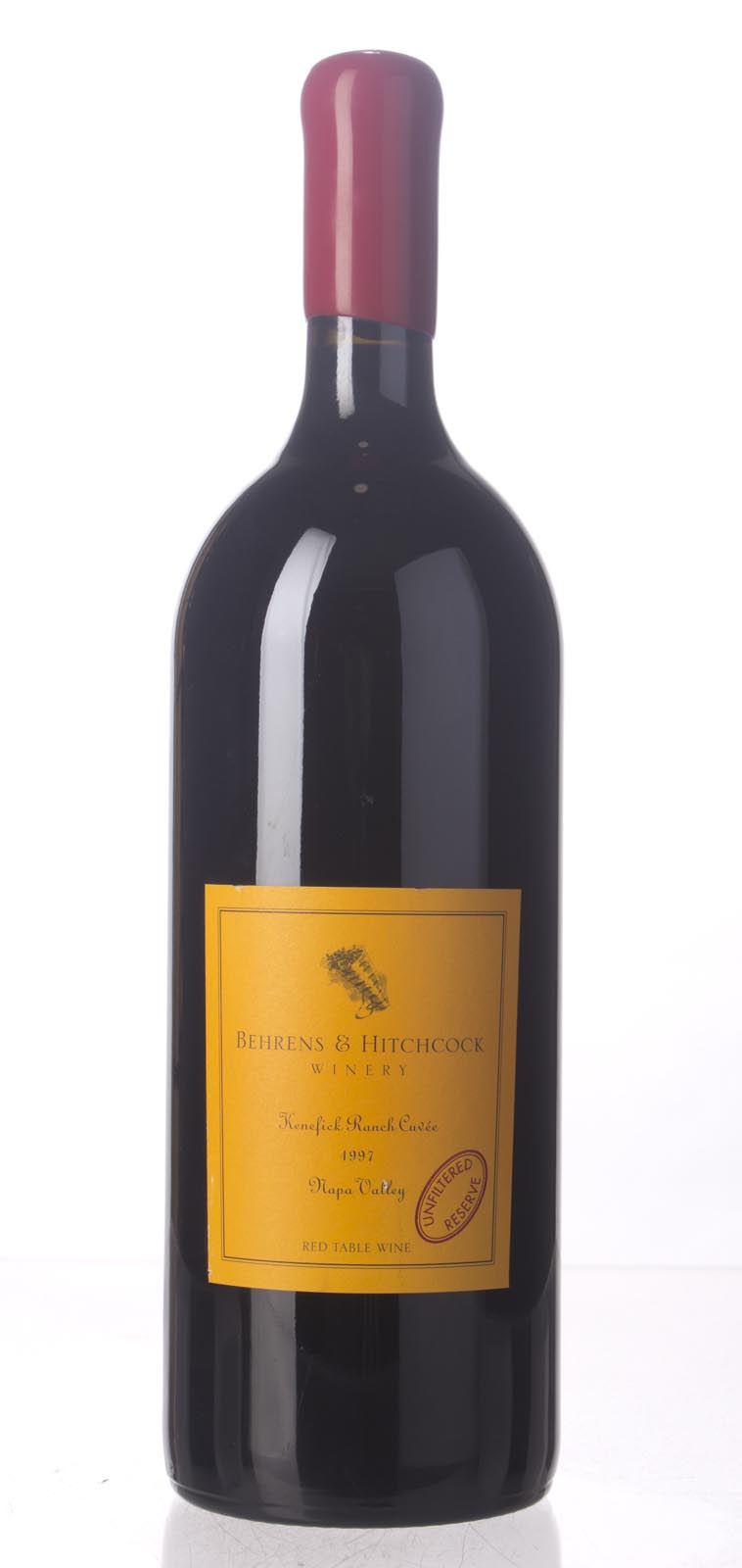 Behrens & Hitchcock Proprietary Red Kenefick Ranch Cuvee 2007, 1.5L () from The BPW - Merchants of rare and fine wines.