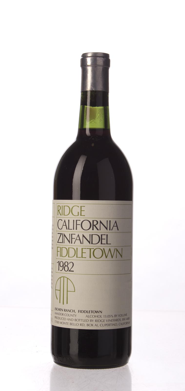 Ridge Proprietary Red Fiddletown 1982, 750mL () from The BPW - Merchants of rare and fine wines.