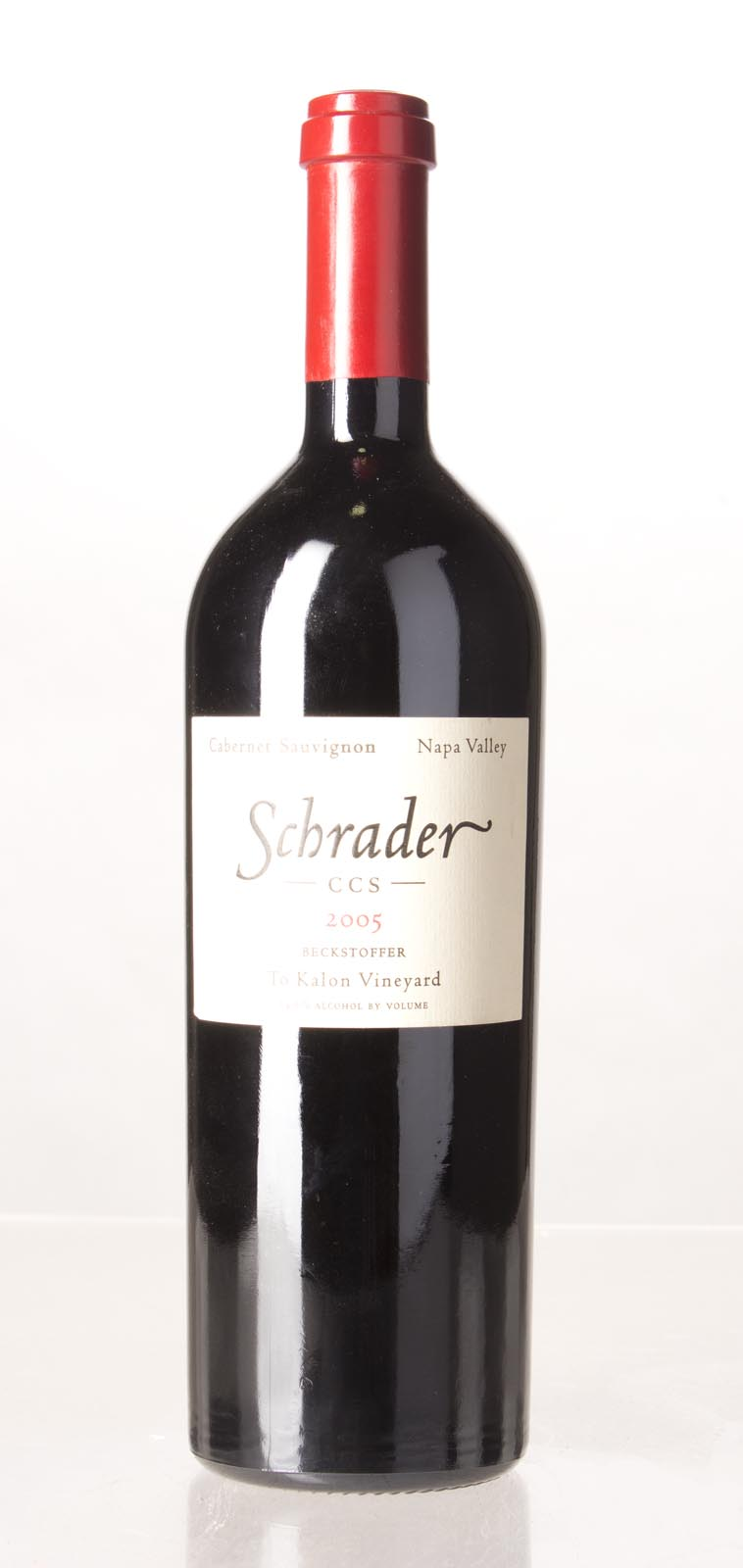 Schrader Cellars Cabernet Sauvignon Beckstoffer To Kalon Vineyard CCS 2005, 750mL (WA100) from The BPW - Merchants of rare and fine wines.