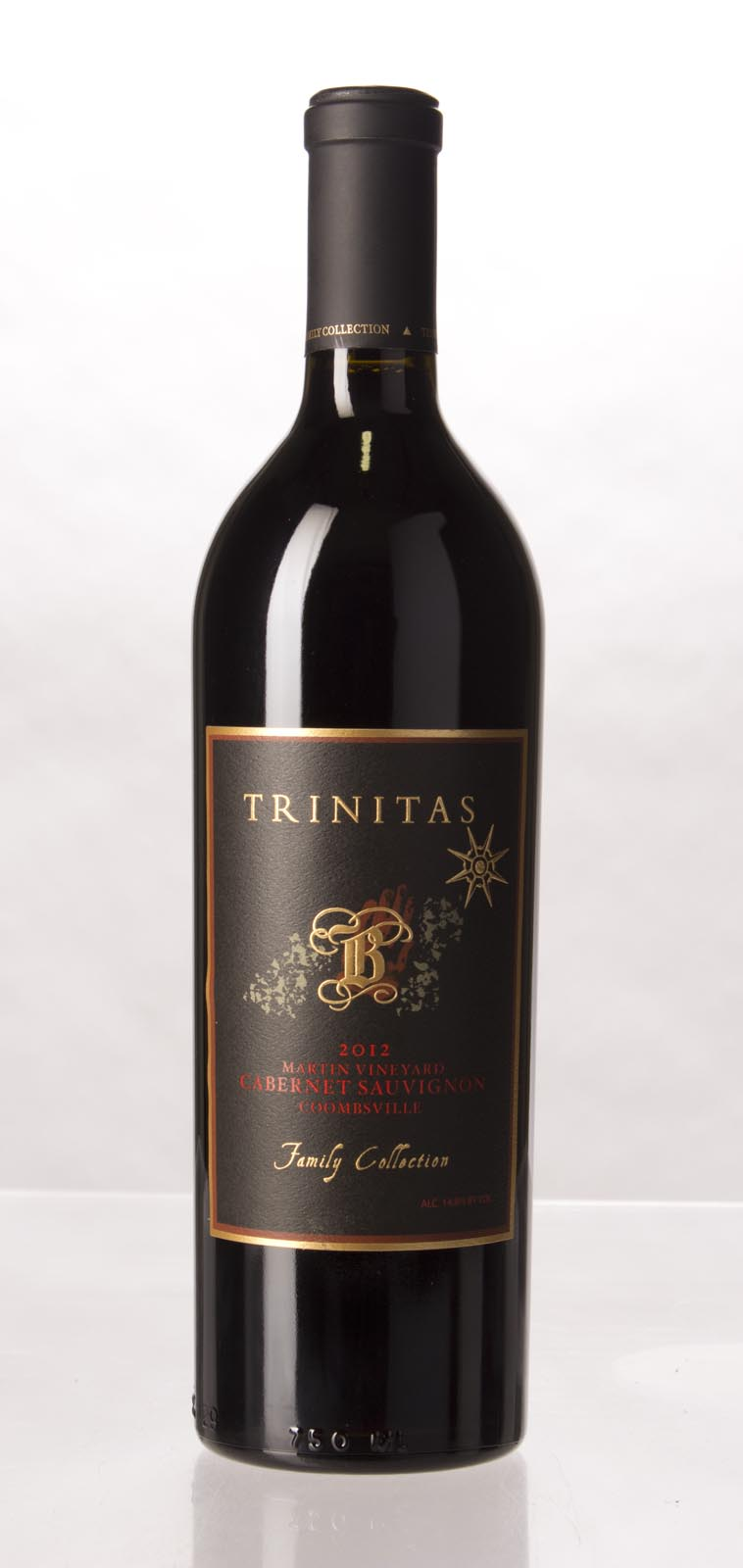 Trinitas Cabernet Sauvignon Martin Vineyard 2012,  (WA92) from The BPW - Merchants of rare and fine wines.