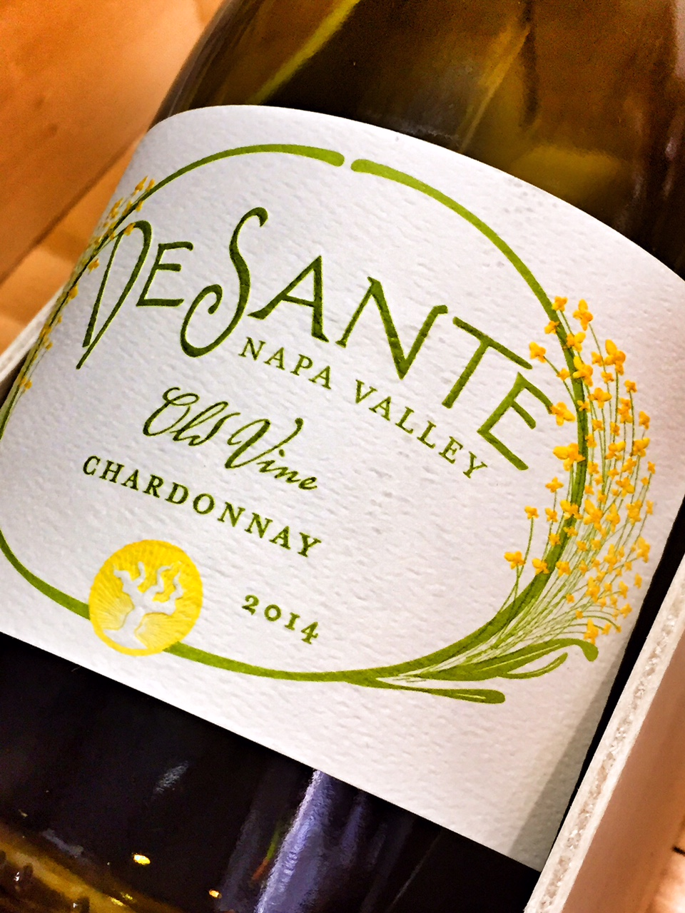 DeSante Chardonnay Old Vines 2014,  () from The BPW - Merchants of rare and fine wines.