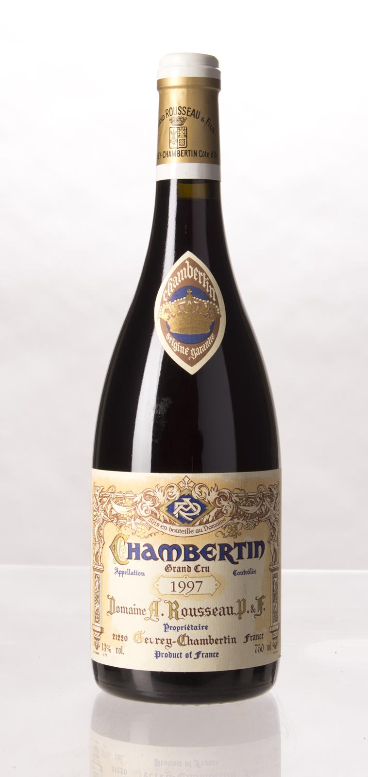 Domaine Armand Rousseau Chambertin 1997, 750mL (WA91-93, ST90-92) from The BPW - Merchants of rare and fine wines.