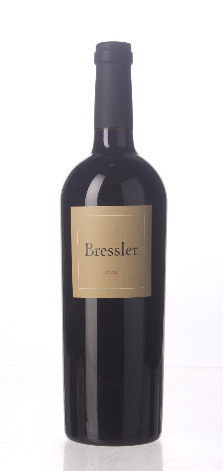 Bressler Cabernet Sauvignon Napa Valley 2002, 750mL (WA92-94, WS92) from The BPW - Merchants of rare and fine wines.