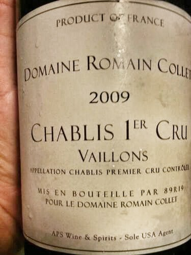 Domaine Collet Chablis Vaillons 2011,  () from The BPW - Merchants of rare and fine wines.