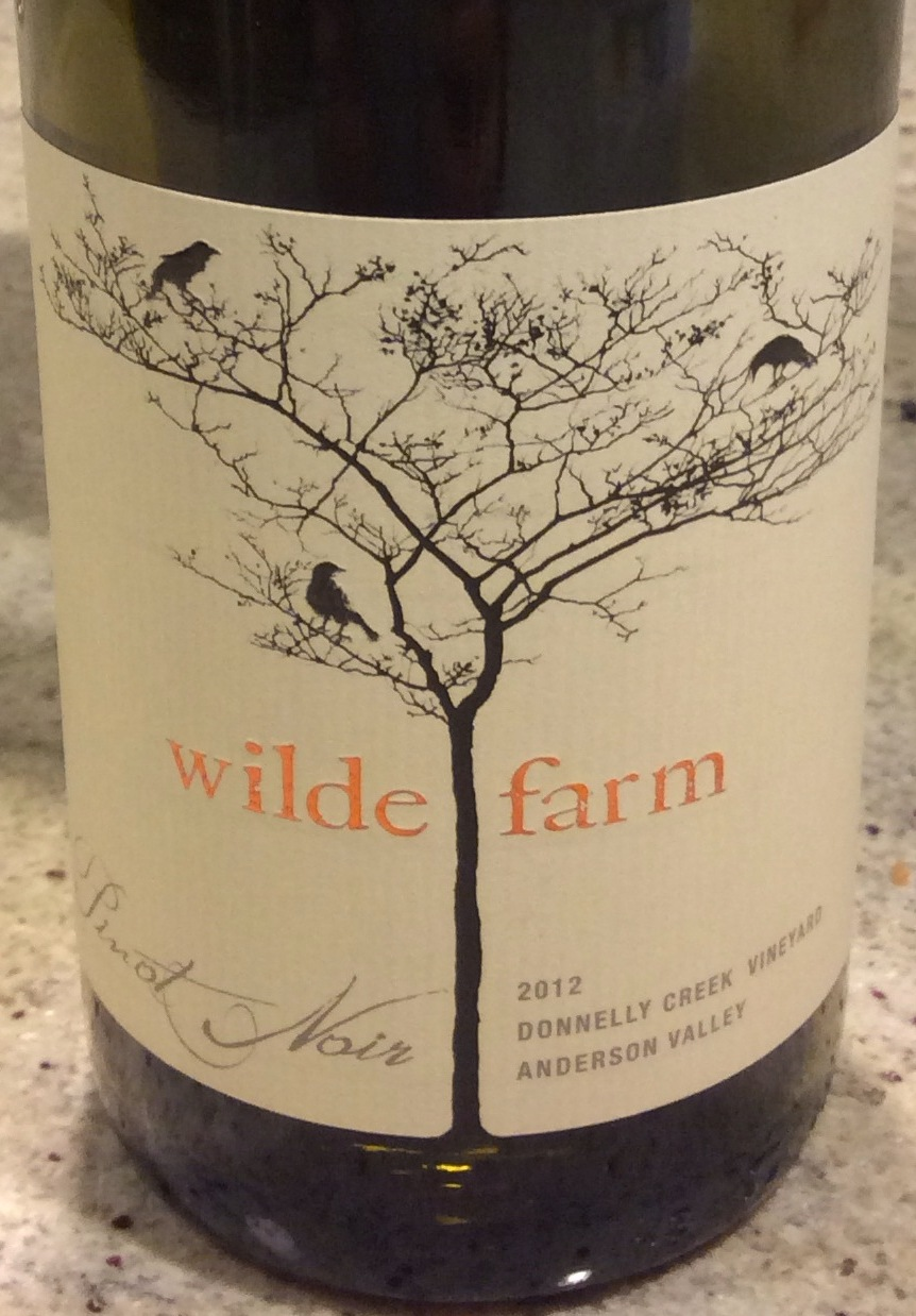 Wilde Farm Pinot Noir Donnelly Creek Vineyard 2012,  (AG94, ST92) from The BPW - Merchants of rare and fine wines.