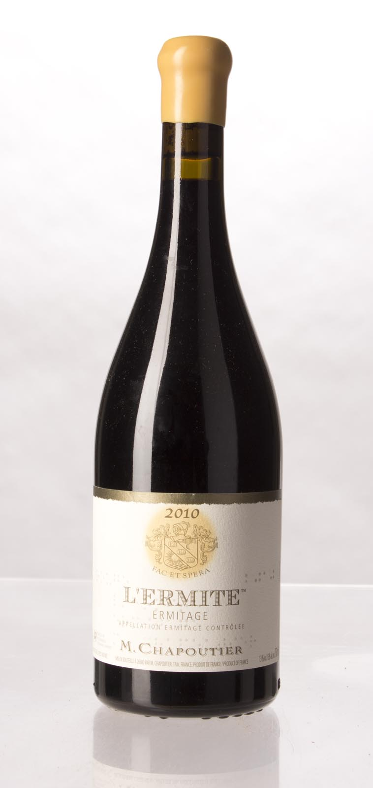 Chapoutier Ermitage l`Ermite 2010, 750mL (WA100, WS99) from The BPW - Merchants of rare and fine wines.
