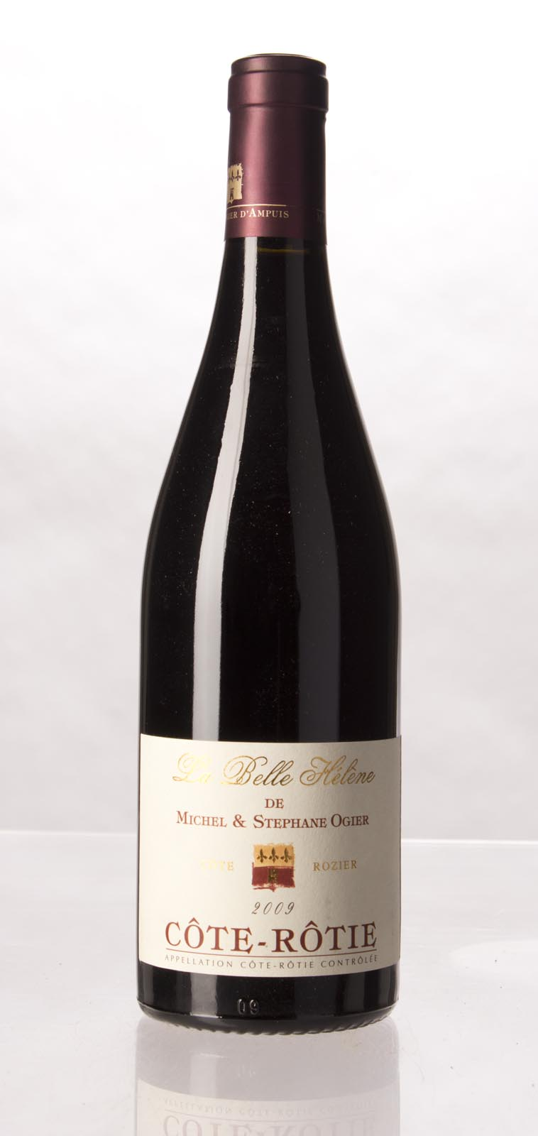 Michel & Stephane Ogier Cote Rotie La Belle Helene 2009,  (WA100) from The BPW - Merchants of rare and fine wines.