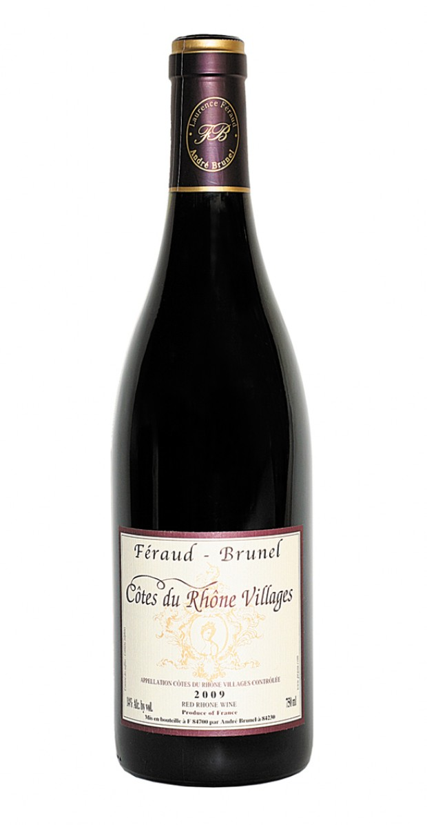 Feraud Brunel Cotes du Rhone Villages 2012,  () from The BPW - Merchants of rare and fine wines.