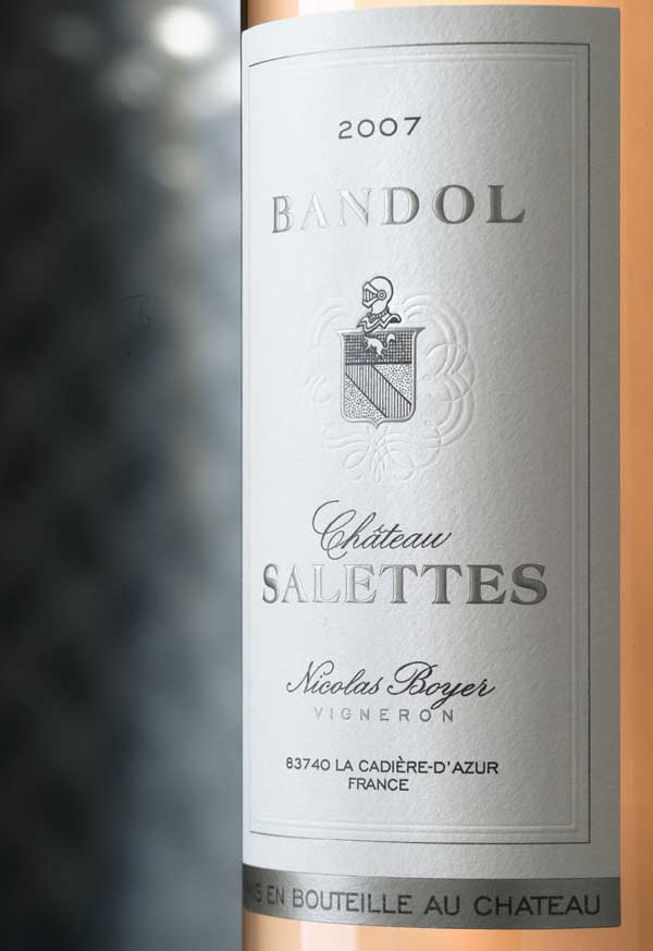 Chateau Salettes Bandol Rose 2013,  () from The BPW - Merchants of rare and fine wines.