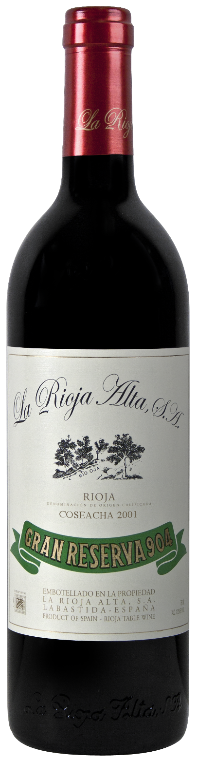 La Rioja Alta Gran Reserva 904 2004, 750ml (WA96) from The BPW - Merchants of rare and fine wines.