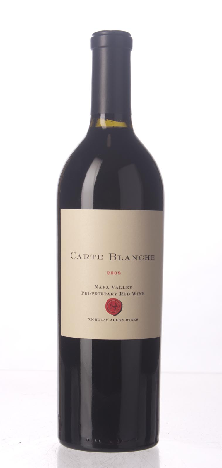 Carte Blanche Proprietary Red Napa Valley 2008, 750mL (WS96) from The BPW - Merchants of rare and fine wines.