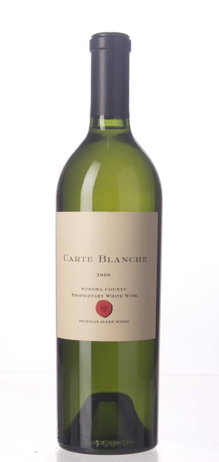 Carte Blanche Proprietary White Sonoma County 2009, 750mL () from The BPW - Merchants of rare and fine wines.